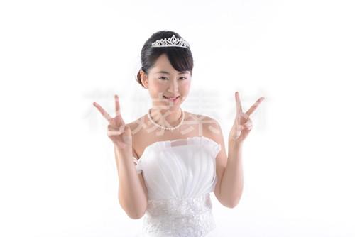 【0139】ポーズを取る花嫁