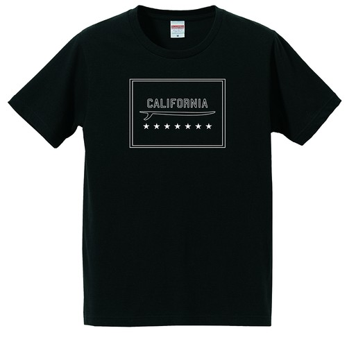 CALIFORNIA tee Black