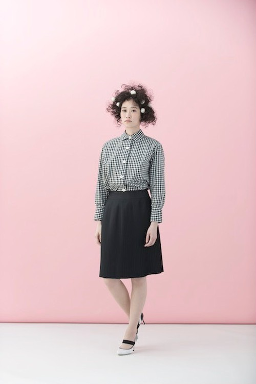 SMALL PLEATS スカート