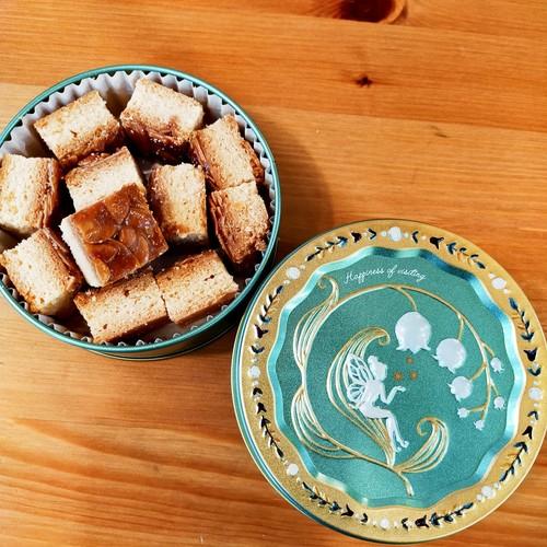 フロランタン入りスズラン缶 お菓子のミカタ
