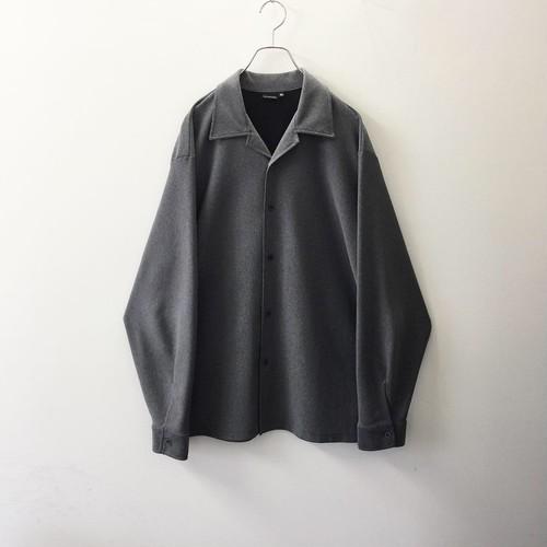 NX CLOTHING オープンカラーシャツ グレー size XL メンズ 古着