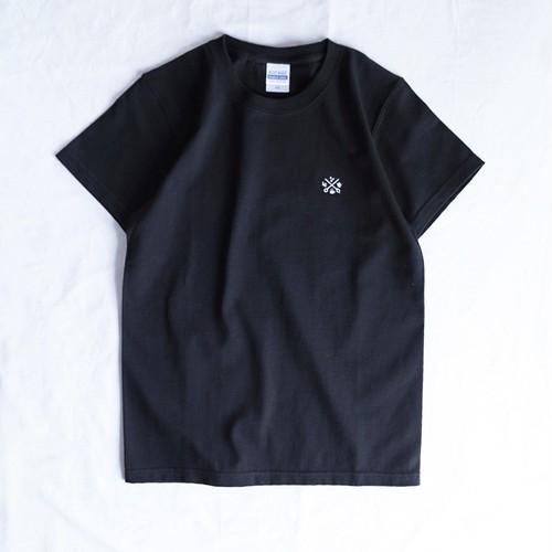 LCR オリジナルTシャツ(logo刺繍・BLACK)