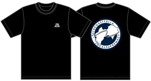 TRANS-4THCoast T-shirt (Black)