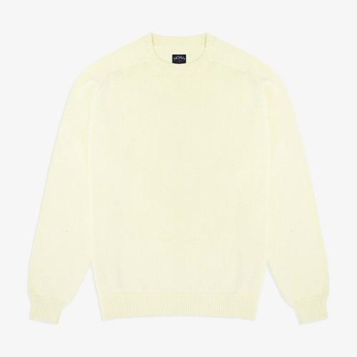 Cotton Crewneck Sweater(Luminary)