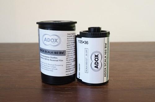 【モノクロリバーサルフィルム 35mm】ADOX(アドックス) SCALA160 36枚撮り