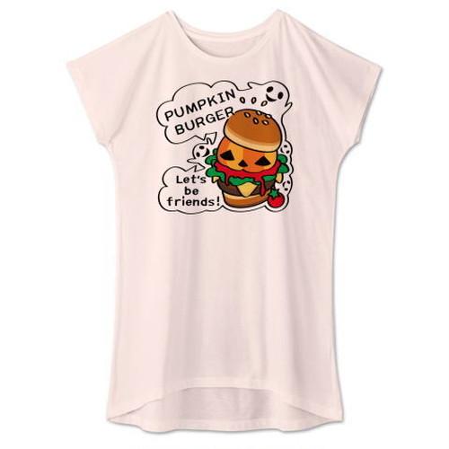 キャラT14 Gz かぼちゃバーガー *ワンピースタイプ Tシャツ
