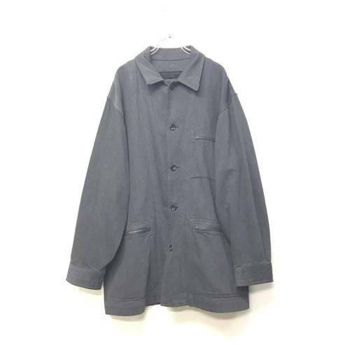 LATE 1980s COMME DES GARCONS HOMME OVERSIZED WORKWEARJACKET
