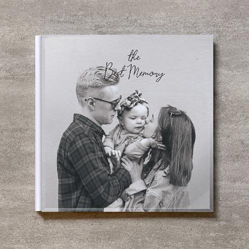 Monochrome-FAMILY_A4スクエア_10ページ/20カット_クラシックアルバム(アクリルカバー)