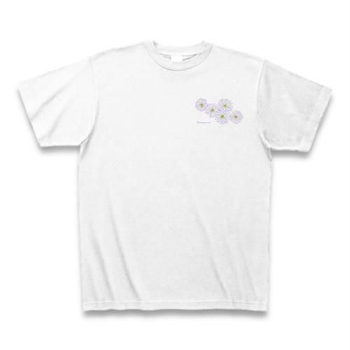 ブラキカム フラワーイラストTシャツ ワンポイント