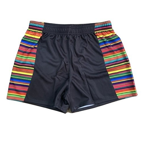 COLORFUL RUGBY GAME SHORTS