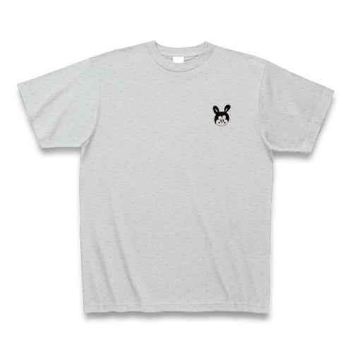 オフィス禁断オフィシャルTシャツ(ロゴ小×グレー)KDNT006