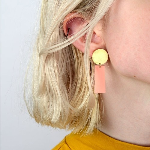 Tom Pigeon -Balance Drop Earring Pair(ピアス)-
