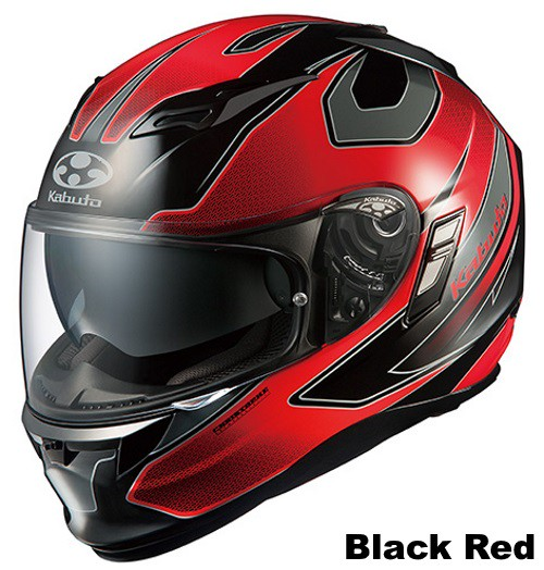 OGK KAMUI 2 STINGER black red