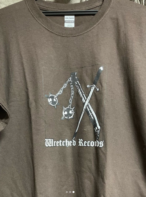 Wretched Records Tシャツ