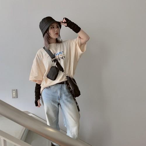 【即納】韓国ファッション  ONEWILLタイダイ柄Tee