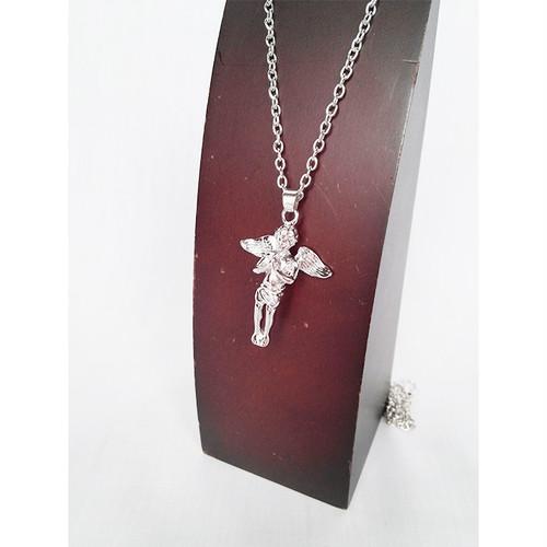 エンジェル 天使 ベイビーエンジェル ANGEL シルバー 銀 SILVER ネックレス ヒップホップ HIPHOP ボックスチェーン 1486