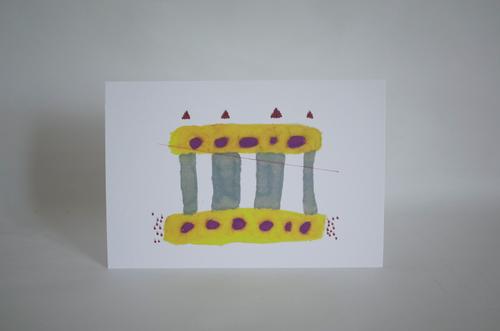 とおやまゆかり 「神殿」 オリジナルポストカード