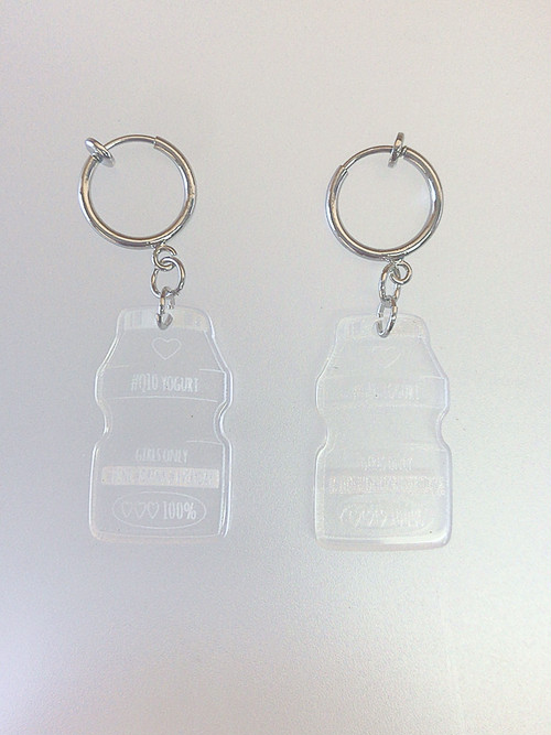 ◎SK brothers◎earring ホワイト