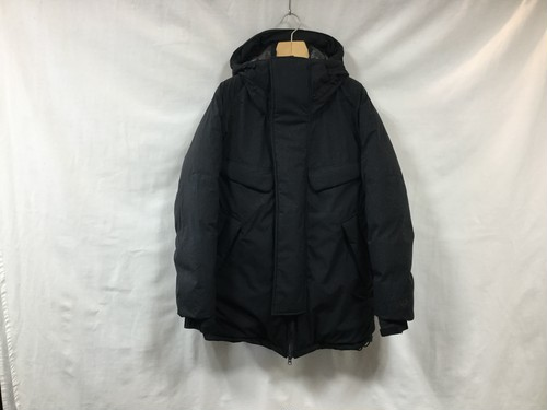 "NANGA""MOUNTAIN BELAY COAT BLACK"