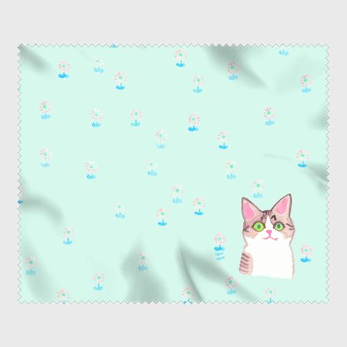 【メガネ拭き】綺麗なおめめ-mintgreen-