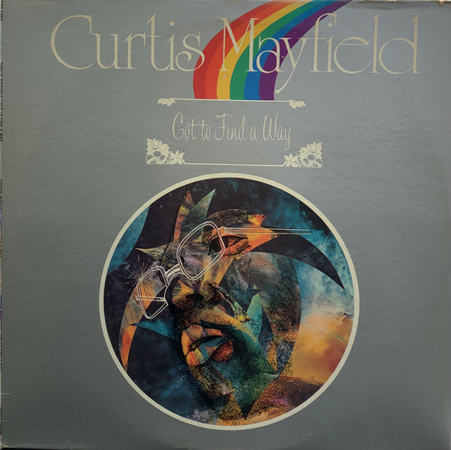 【USED/LP】CURTIS MAYFIELD - GOT TO FIND A WAY(US ORIGINAL)