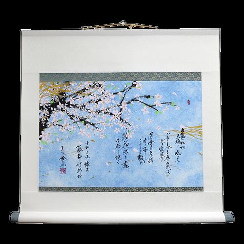 【掛軸】春【68×60cm】
