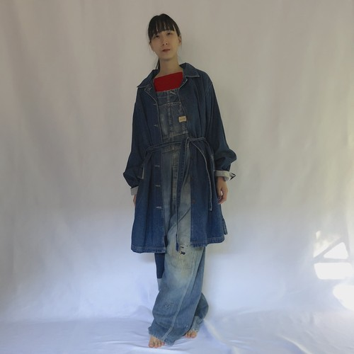 90's billblass jeans | denim work coat (V4992A)
