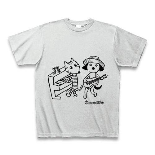 Tシャツ 「ソノライフ Duo-Style カラー;グレー」