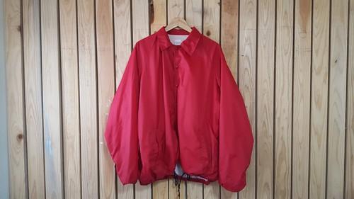 コーチジャケット (red)