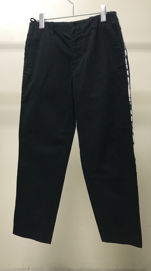 EARLY 2000s HELMUT LANG SIDE TAPED TROUSERS