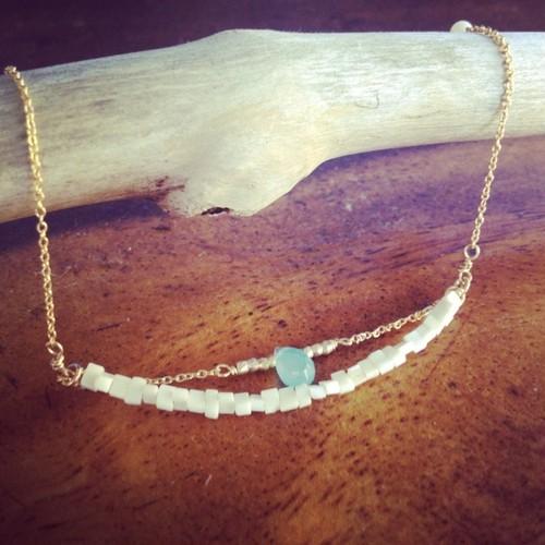 14kt gf *Ocean bracelet