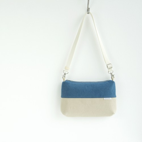 CANVAS FLAT SHOULDER W / RB×GB