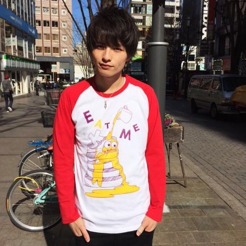 【SALE!即日出荷】こなんロンT パンケーキモンスター【レッド】