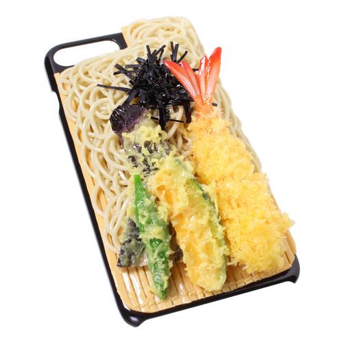 [8054]食品サンプル屋さんのスマホケース(iPhone7 Plus/iPhone8 Plus:天ざるそば)【メール便不可】