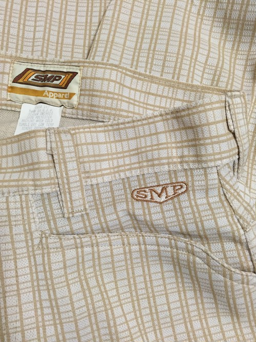 90's SMP polyester pants