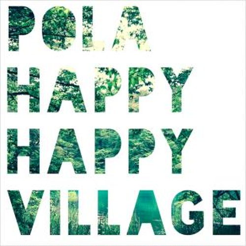 POLA / HAPPY HAPPY VILLAGE (CD-R)