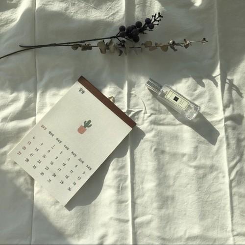 2021 hangul fabric calendar 2size / ハングル 壁掛け ファブリック カレンダー 韓国語 韓国雑貨