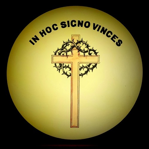 幻燈スライド フリーメイソン「幻視の十字架」