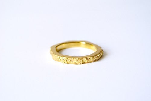 Stone Ring 1-hard- (GOLD)