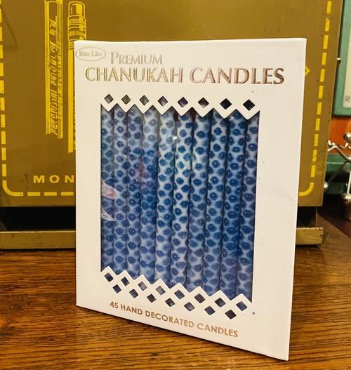 プレミアムハヌカキャンドル☆Premium Hanukkah Candles