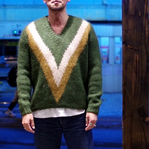 Vintage Mohair Sweater / Hand made in ITALY / ヴィンテージ モヘア セーター イタリア製