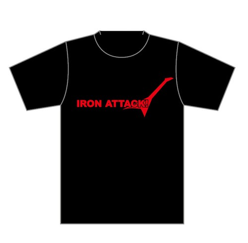 IRON ATTACK!WORLD TOUR Tシャツ