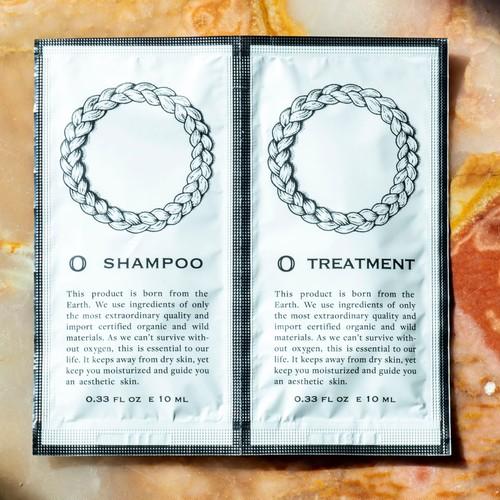 O・ Shampoo10ml & O ・ Treatment 10ml set(オー・シャンプー10ml & オー・トリートメント10ml セット)