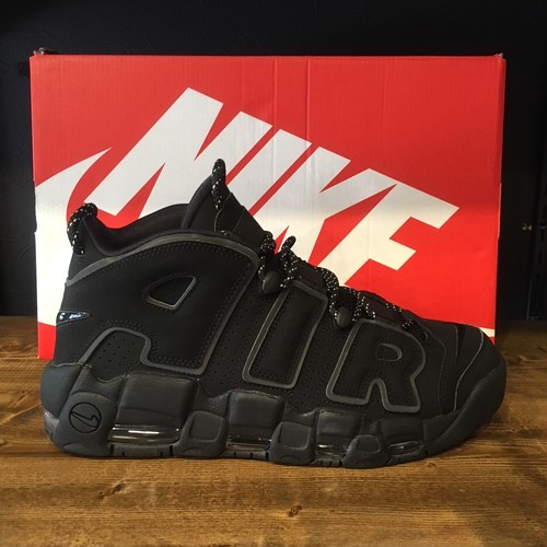 【NIKE】AIR MORE UP TEMPO BLACK/BLACK-BLACK (414962-004)