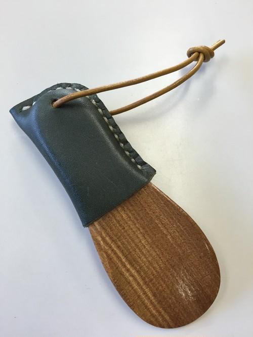 携帯靴べら・ダークグリーン