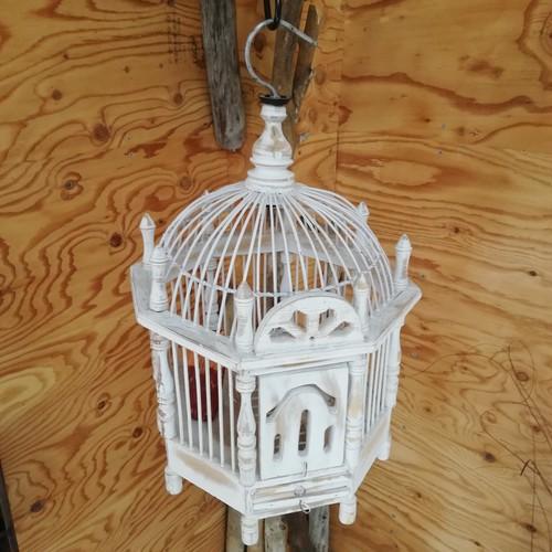 木製鳥かご