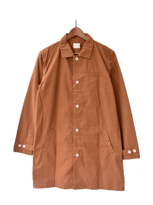 have a good day ショップコート【BROWN】