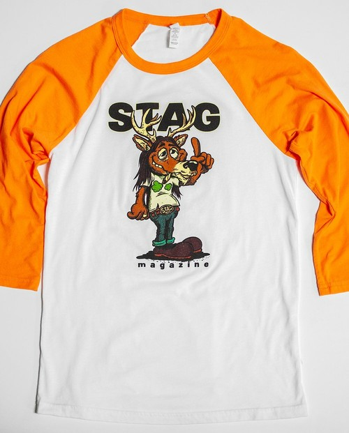 STAG - Bucky The Stag Baseball Tee