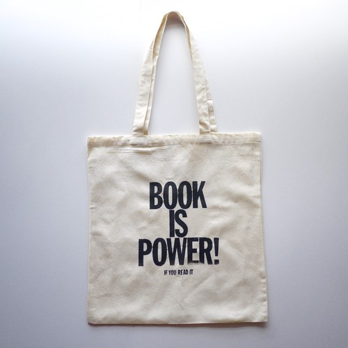 BOOK IS POWER Tote Bag M