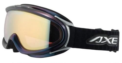 AXE アックス 偏光 ゴーグル 日本製 ax888 wmp BK 偏光レンズ スノーゴーグル /スキー,スノボー,ミラーレンズ/メンズ